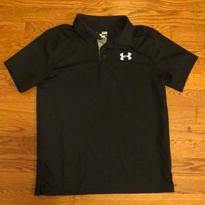 Boys UnderArmour Collared Shirt YLG
